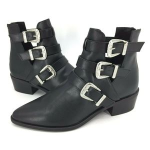 Madden Girl Cecily Strappy Ankle Boot  Size 7.5